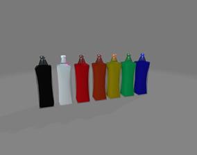 Potions Pack Simple 3D model