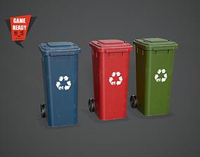 3D asset Trash PBR GameReady