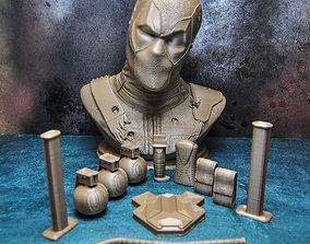 DEADPOOL BUST x-men 3D printable model
