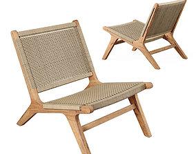 NAIROBI Garden Armchair No2 3D model