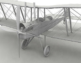 3D Royal Aircraft Factory BE2c no material