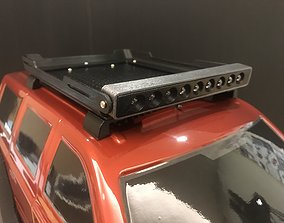 Redcat Everest Gen7 Roof Rack with LED Bar 3D print model