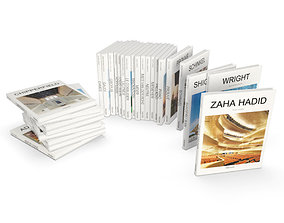 3D model Architect Books