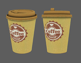 first coffee cup 3D