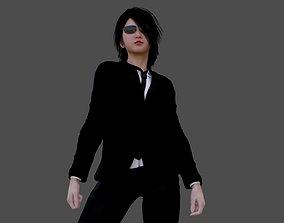 Female Asian Bodyguard - G-Woman 3D