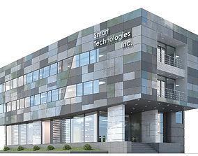 3D model Office building 04