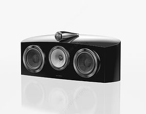 Bowers and Wilkins HTM2 D3 Gloss Black 3D model