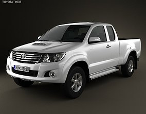 3D Toyota Hilux ExtraCab 2012