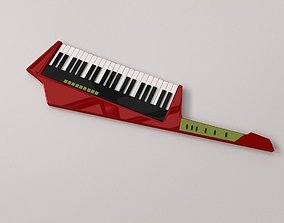 3D model Keytar
