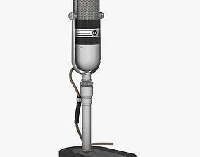 Microphone - RCA 77 DX 3D model