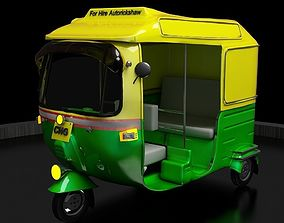 3D print model CNG Auto Rickshaw High Poly