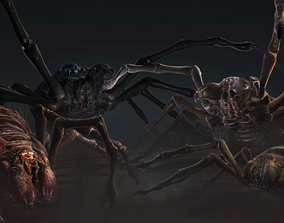 Monsters - Giant Spider 3D asset