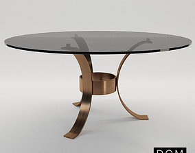 Round dinner table Massimo - Dom Edizioni 3D