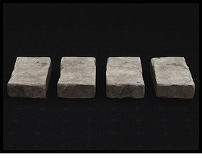 Stone Pack 01 3D Model - PBR Texture game-ready