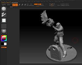 3D print model Leon Kennedy from Resident Evil 4