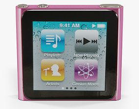 Apple iPod nano 6 Generation 3D model