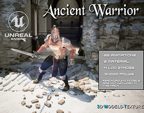 Ancient Warrior for UNREAL 3D asset