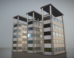 3D model City Building Design E-2