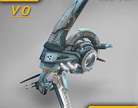 3D model Drone V0 Cybertech - ANIMATED