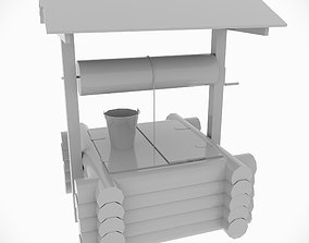 Countryside well 3D model
