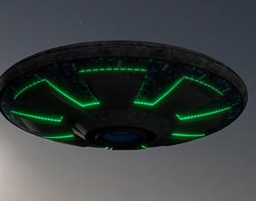 UFO Saucer A 3D