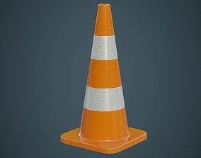 3D model Traffic Cone 4A