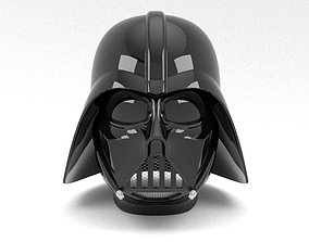Nurbs Darth Vader Helmet for 3D Print