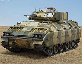 M2A1 Bradley 3D