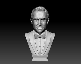 Sean Connery - James Bond 3D print model