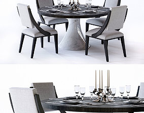 Bernhardt Decorage Dining Set 3D dining-table