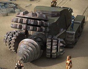 3D The Drill Tank