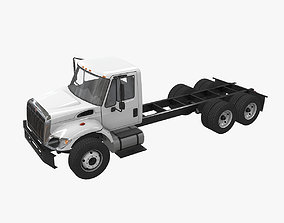International 7400 Chassis 3D model