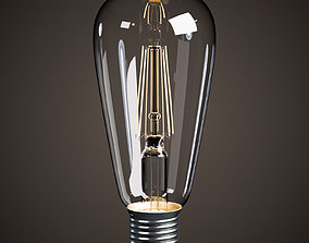 Lightbulb - LED Vintage Edison Bulb 3D model