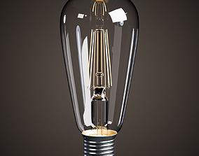 Lightbulb - LED Vintage Edison Bulb 3D model