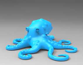 Octopus figure 3D printable model