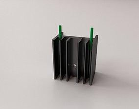 Heatsink v2 3D model