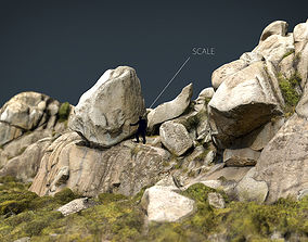 3D model MOUNTAIN ROCKS 1
