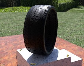 tire ORTAS TIRE NO 37 GAME READY AND 3D PRINTABLE