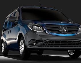 3D model Mercedes Benz Citan Van L3 2017