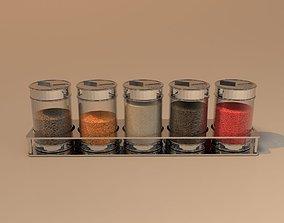 Spice rack 3D