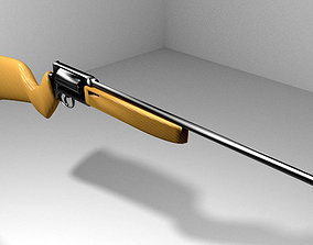 3D model Revolver - Rifle Type 1