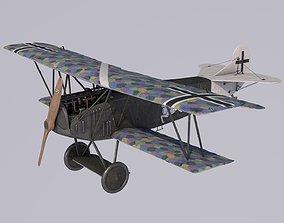 3D Fokker DVII Degelow