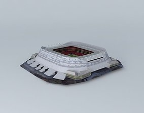3D model Arena Pernambuco under construction