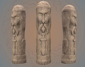 Old Celtic Idol 3D model