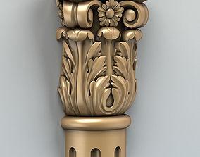 3D model Column Capital 005