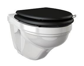 Devon Devon BLUES WALL-HUNG WC 3D model