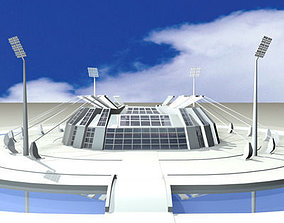 3D Athletic Stadium