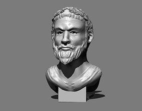 Spartan Bust 3D print model