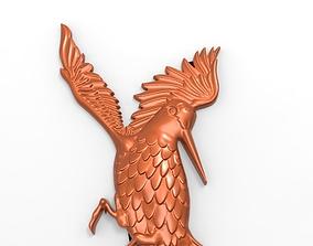 3D model woodcock 3d relief