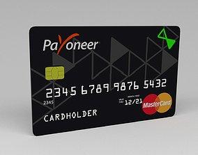Payoneer credit card 3D model